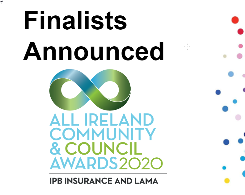 2020 All Ireland Community and Council Awards Finalists